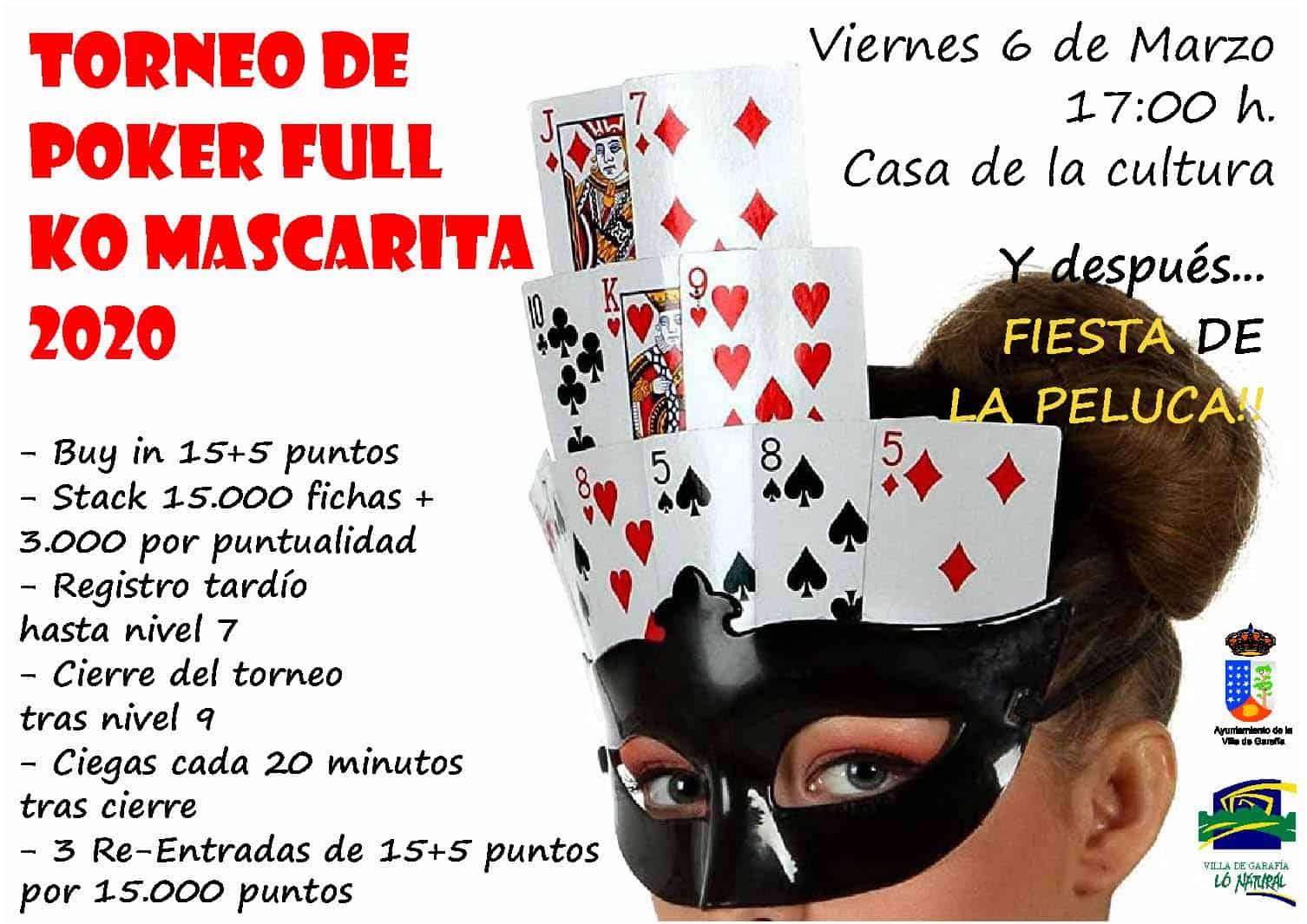 Torneo de Poker Full Ko Mascarita 2020