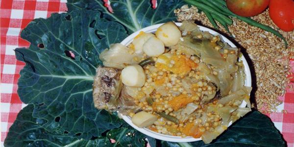 Potaje de Trigo, Gastronomía de La Palma