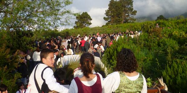 Valle de Las Cruces, Villa de Garafia (Foto: Luisa Castro)