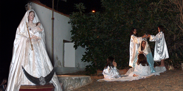 Virgen de La Luz, Villa de Garafia (Foto: Luisa Castro)
