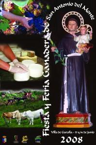 Cartel San Antonio del Monte 2008