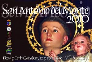 Cartel San Antonio del Monte 2010
