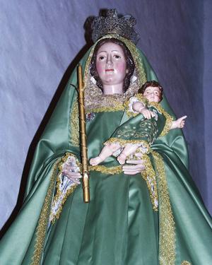 Virgen de la Luz. Foto: Archivo  Ayto. de la Villa de Garafía