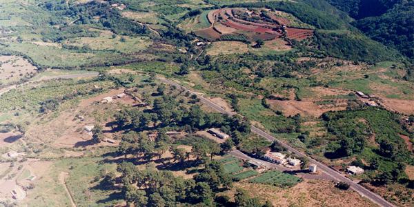 La Mata, Villa de Garafía. Foto Aerea: Luisa Castro