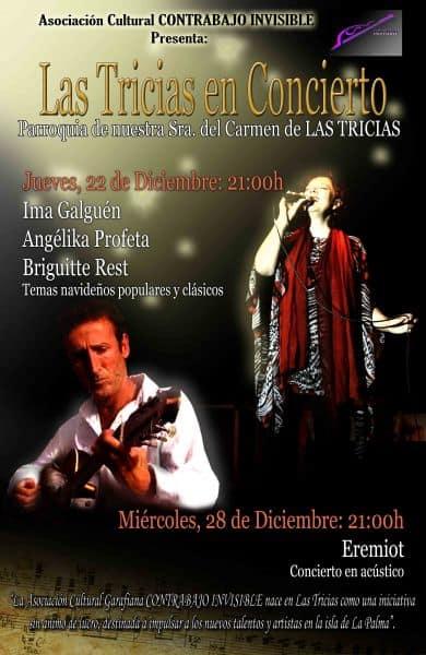 Asociación Cultural Contrabajo Invisible presenta Las Tricias en concierto