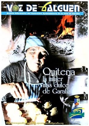 Quinteria, la mujer más dulce de Garafía