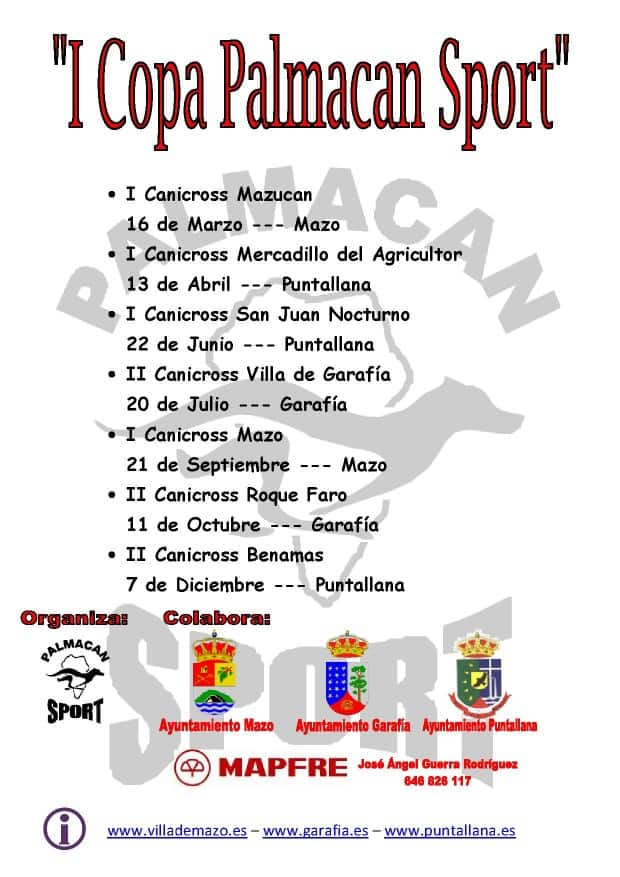 """I Copa Palmacan Sport"""