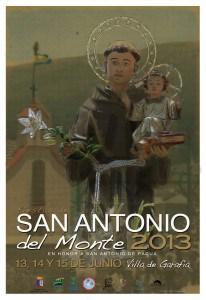 CARTEL SAN ANTONIO DEL MONTE 2013 33X48 CM (1)