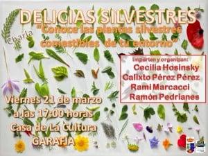 Cartel Delicias Silvestres