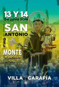 Cartel de San Antonio del Monte 2014