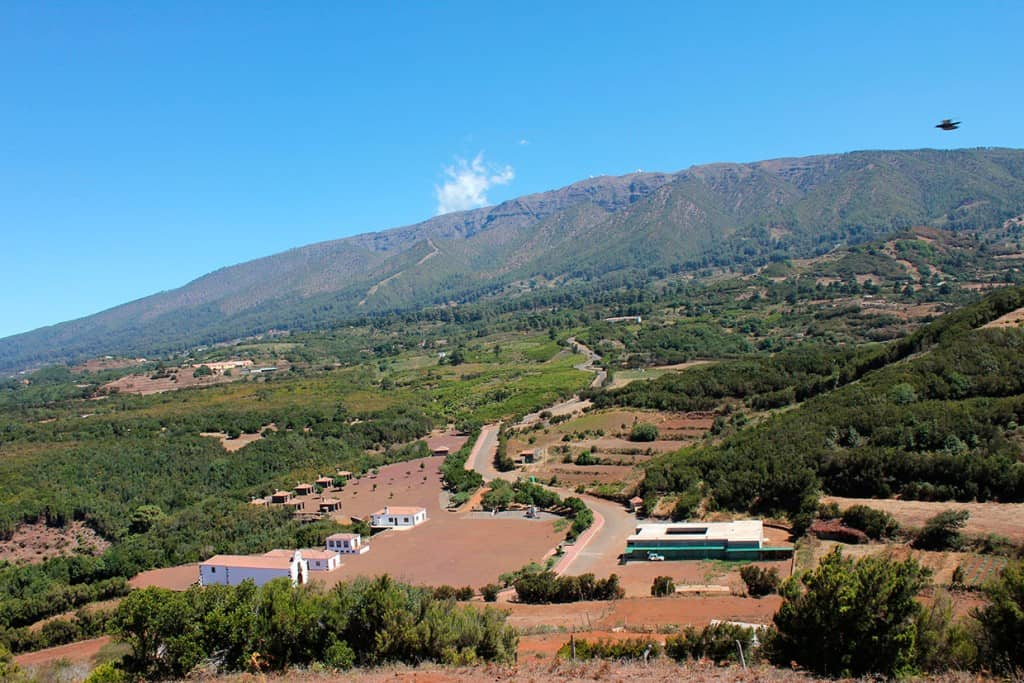 Foto Panorámica San Antonio del Monte. Garafía