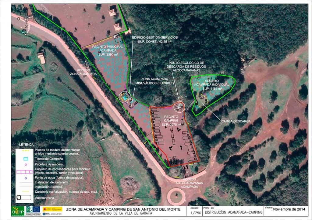 Zona de Acampada y Camping San Antonio del Monte