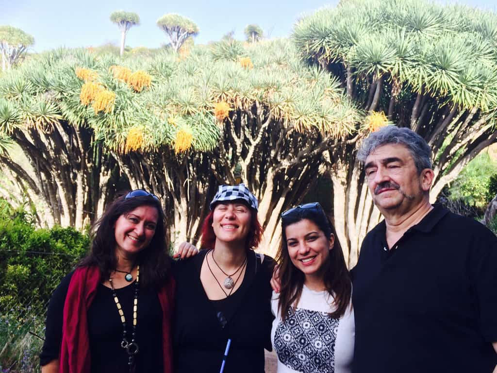 Buscan localizaciones en La Palma para la adaptación televisiva de la novela 'Búscame donde nacen los dragos'