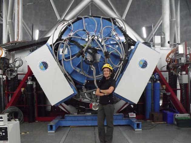 La astrónoma de Garafía que estudia el Universo desde el Grantecan
