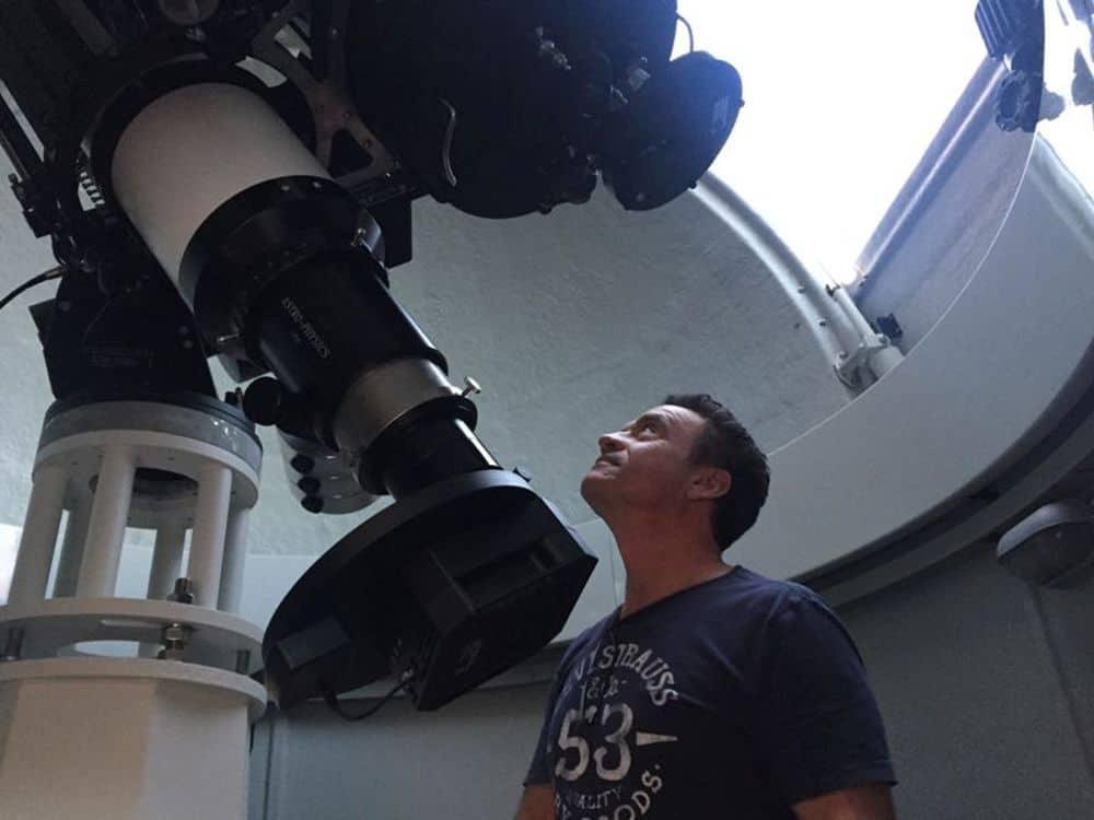 Garafía se abre a la astrofísica para aficionados con un centro privado