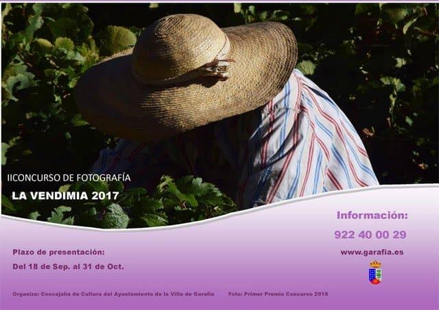 Bases II Concurso de Fotografía La Vendimia 2017