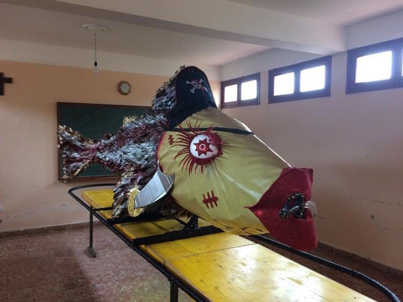 El Entierro de la Sardina cierra el Carnaval en Garafía