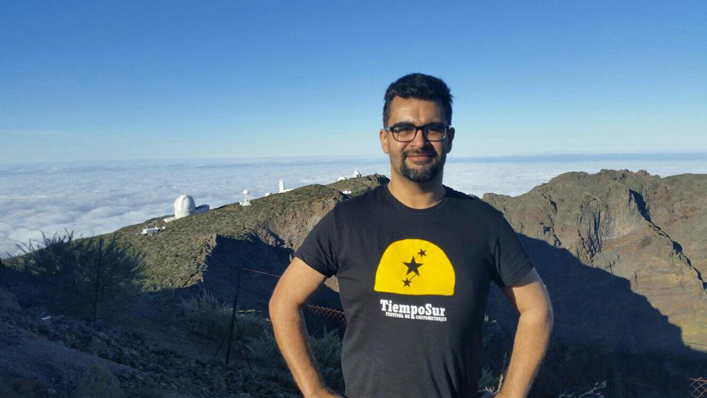 """Anatael Pérez dirigirá el festival de cine """"Tiempo Sur"""" en la comarca noroeste de La Palma"""