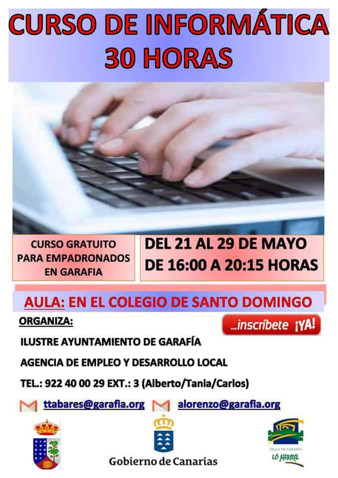 Formación gratuita de informática en Garafía