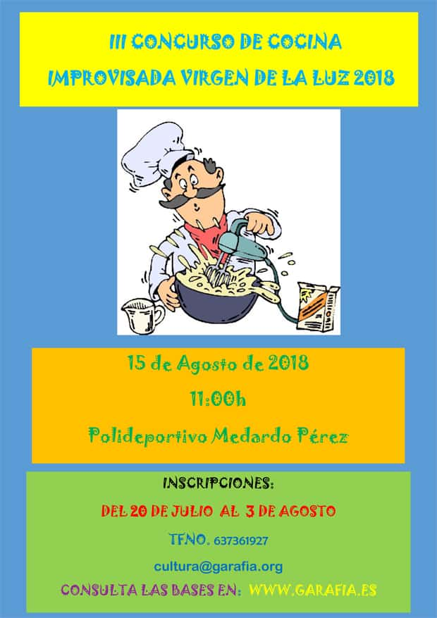 """III Concurso de Cocina Improvisada """"Virgen de La Luz"""""""