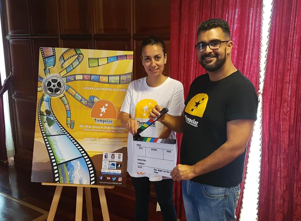 Presentación del Festival de Cortometrajes Tiempo Sur en la Villa de Garafía