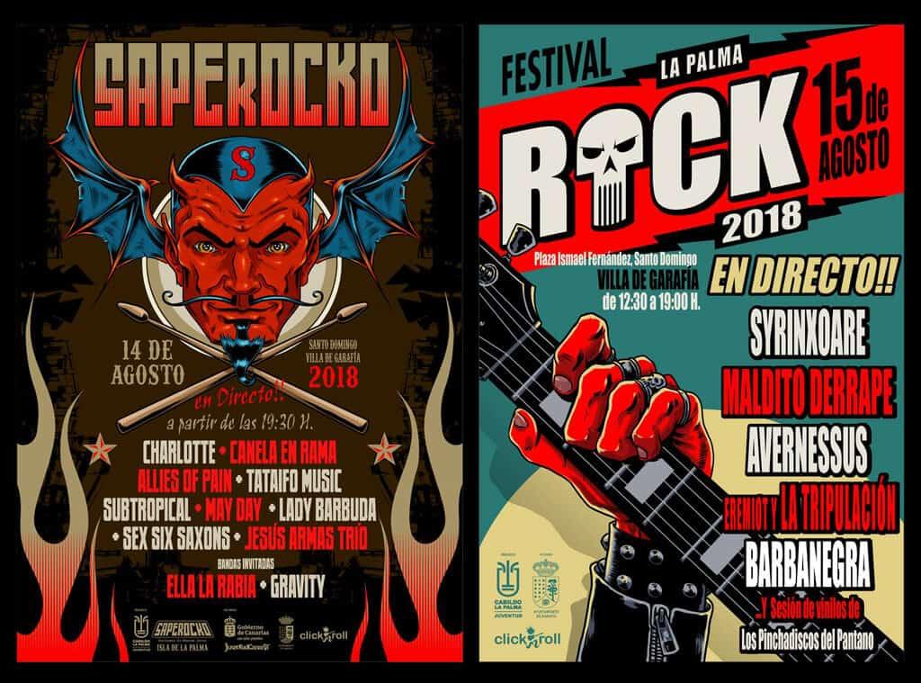 Once propuestas de música joven hecha en La Palma protagonizan en Villa de Garafía el certamen 'Saperocko'