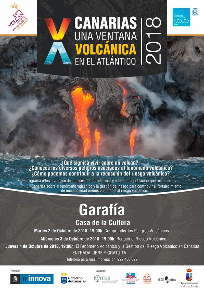 """El programa educativo """"Canarias: una ventana volcánica en el Atlántico"""" visita los municipios de Valverde, Puntagorda y La Villa de Garafía"""