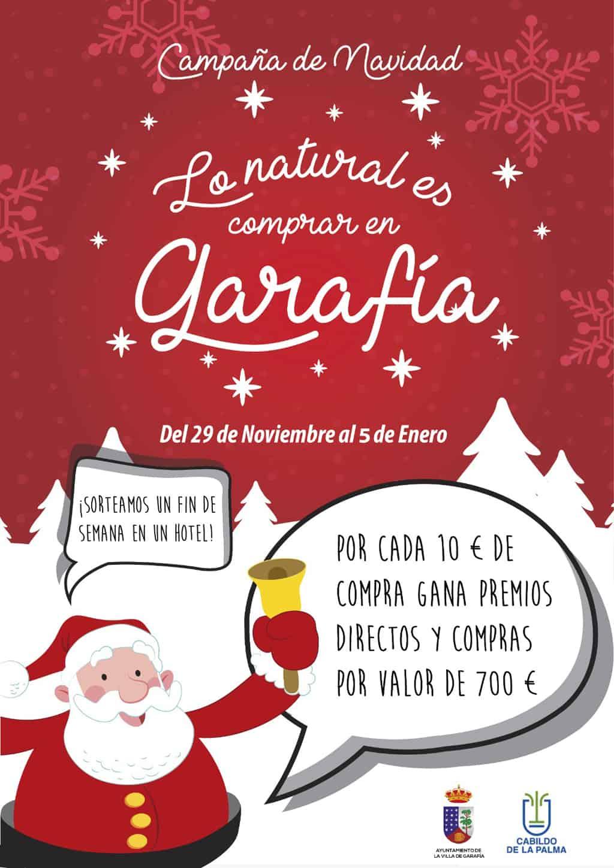 Villa de Garafía inicia su campaña local de Navidad