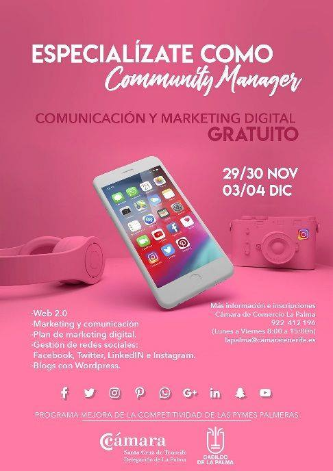 Especialízate como Community Manager