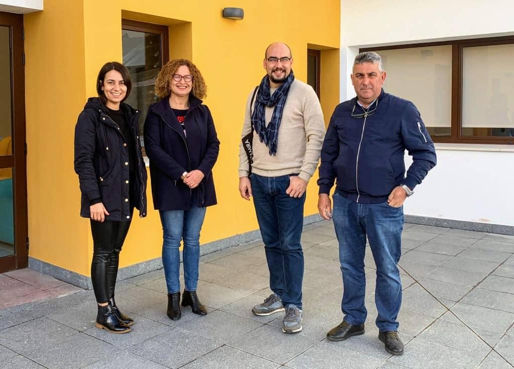 La consejera de Acción Social visita las instalaciones de la residencia de mayores de Villa de Garafía
