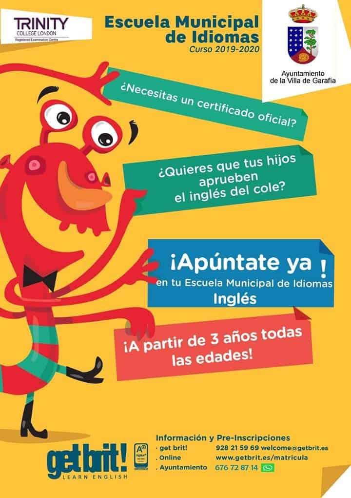 Escuela Municipal de Idiomas Curso 2019-2020