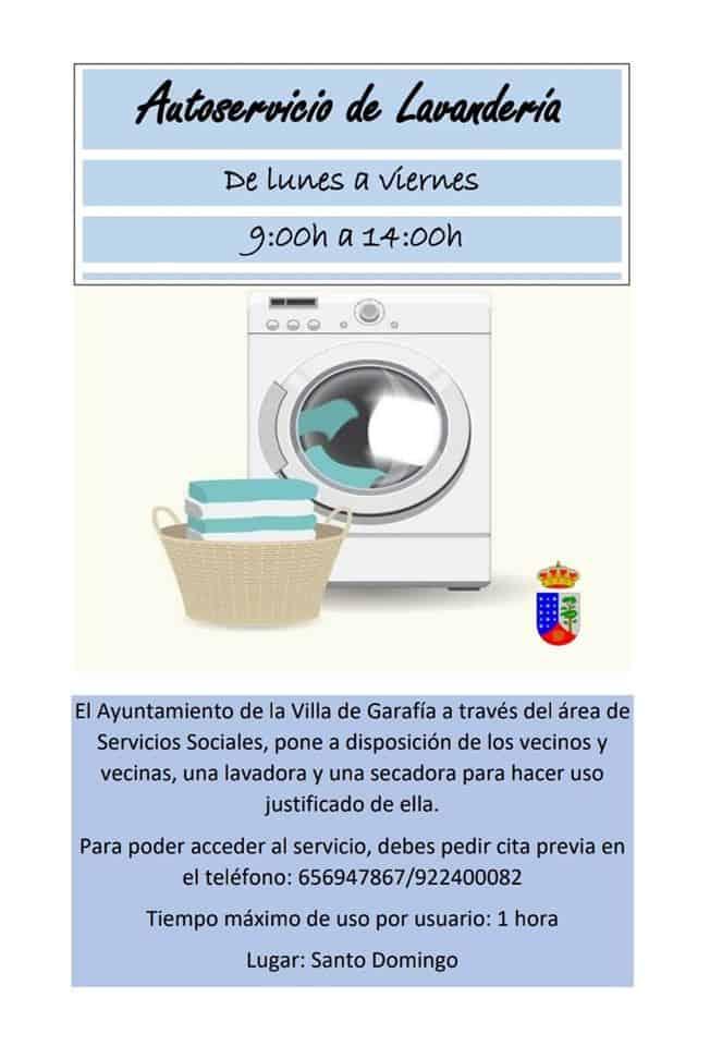 Nuevo autoservicio de lavandería en la Villa de Garafía