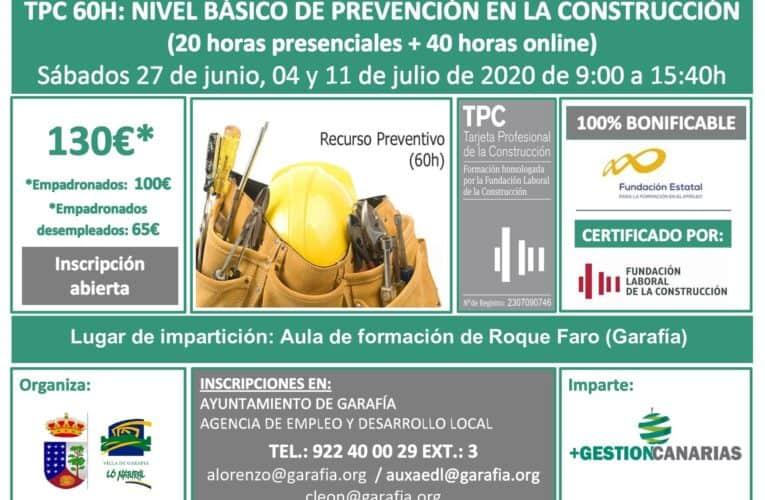 Formación en Prevención en La Construcción
