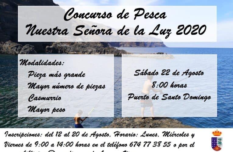 Concurso de Pesca Nuestra Señora de La Luz 2020