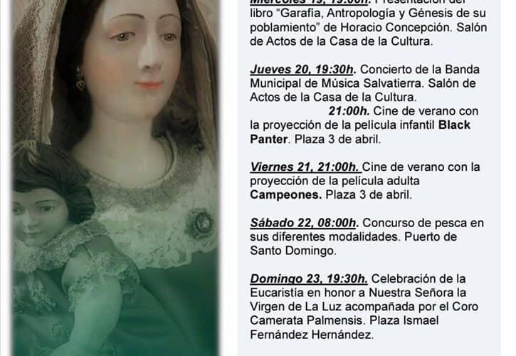 Programa Nuestra Señora la Virgen de la Luz