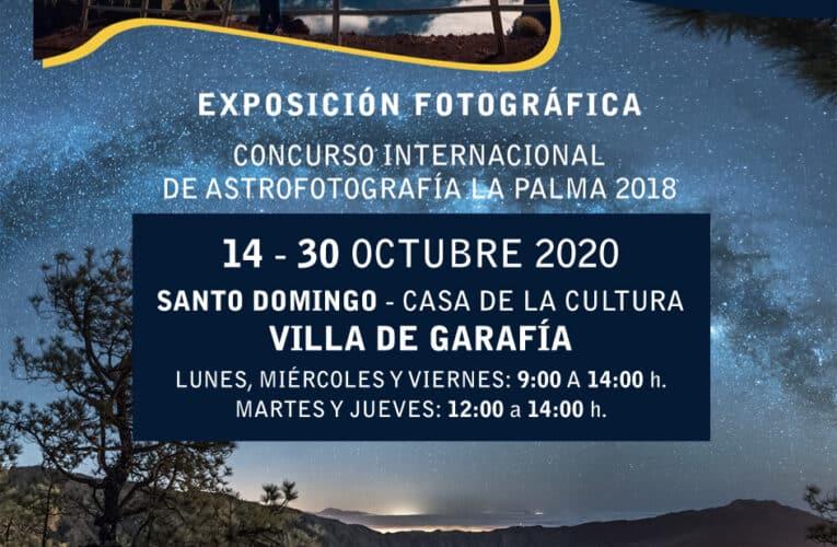 Exposición Fotográfica Concurso Internacional de Astrofotografía La Palma 2018