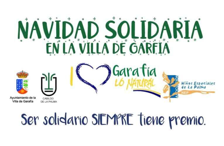 Esta Navidad en la Villa de Garafía: Ser solidario SIEMPRE tendrá premio.