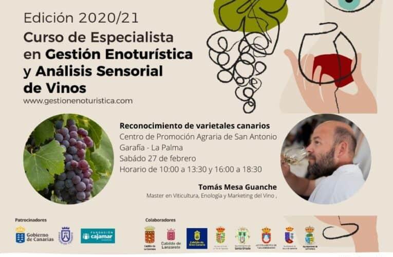 Garafía acoge el taller de reconocimiento de varietales canarios de la Cátedra de Agroturismo de la ULL