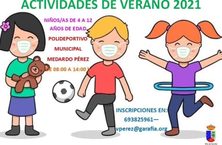 Actividades de Verano 2021
