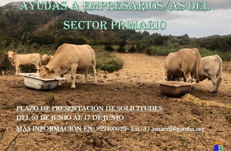 Bases Ayudas a empresarios/as del sector primario