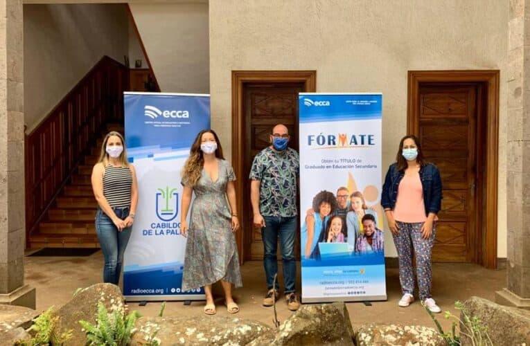El Ayuntamiento de Garafía refuerza su alianza con Radio ECCA a través del proyecto 'Fórmate'