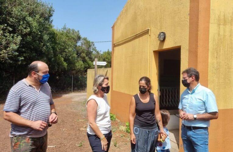 Plantean la creación de un centro de recría de la cabra de raza palmera en Garafía